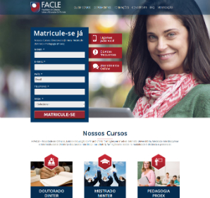 Site Institucional: Facle